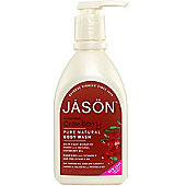 JASON NATURAL Cranberry Satin Body Wash Pump Shower Gel