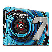 Bridgestone Mens e7 Pure Distance Golf Ball (2013)