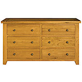 Alterton Furniture Vermont 6 Drawer Wide Chest