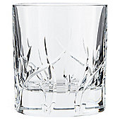 RCR Etched Fluted Water Glass Single