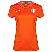 2014-15 Holland Home World Cup Womens Shirt - Orange