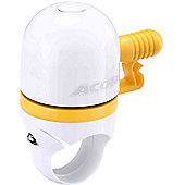 Acor Capsule Mini Bell: White/Yellow.