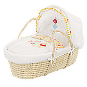 Obaby Disney Winnie the Pooh Moses Basket in White