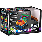 Laser Pegs 8 in 1 Car Construction Kit