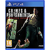 Crime and Punishment: Sherlock Holmes PS4