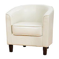 Sofa Collection Abbeville Tub Chair - Cream