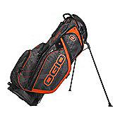 Ogio Mens Silencer Golf Bag (Stand) in Carbon & Black