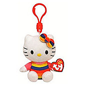 "Ty Beanie Hello Kitty 3"" Key Clip - Cupcake"