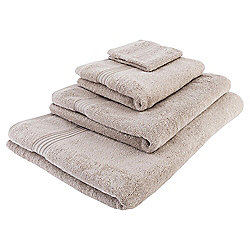 Tesco Hygro 100% Cotton Hand Towel, Taupe