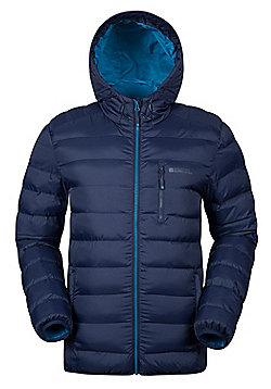 Mountain Warehouse Link Mens Padded Jacket - Blue