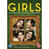GIRLS Season 1-3 (DVD)