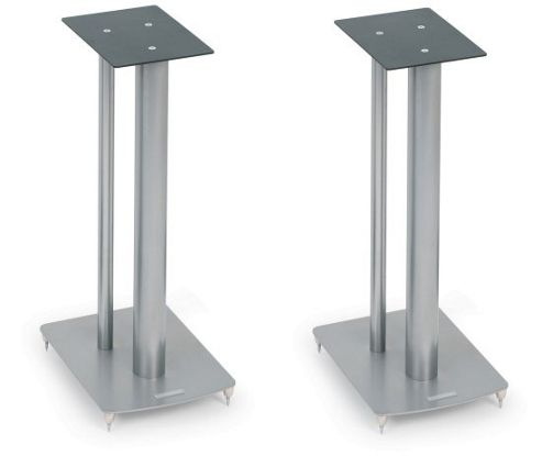 MISSION STANCETTE SPEAKER STANDS (PAIR) (SILVER)