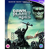 Dawn Of The Planet Of The Apes - 3D Blu-ray