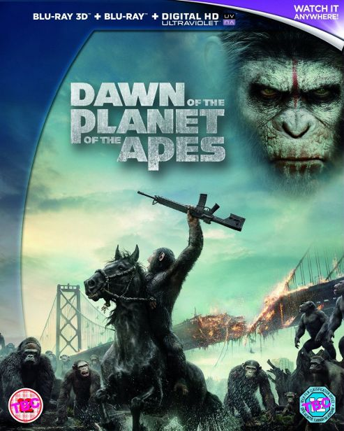 Dawn Of The Planet Of The Apes (3D Blu-ray)