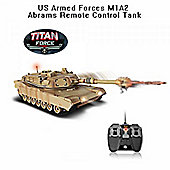 Titan Force US Armed Forces M1A2 Abrams RC Tank