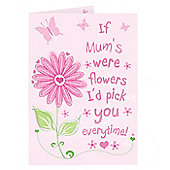 Personalised Id Pick You Card Mother's Day Card