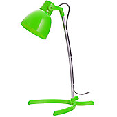 Faro Heidi 1 Light Reading Lamp - Green