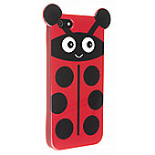 Trendz iPhone 5 and iPhone 5S Pink Ladybird Character Case