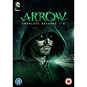 Arrow - Series 1-3 DVD