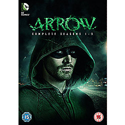 Arrow - Series 1-3 DVD