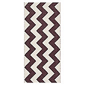Swedy Mora Wine Red Rug - Runner 60 cm x 200 cm (2 ft x 6 ft 7 in)