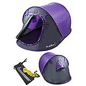 Summit 2 Man Pop Up Tent 3 Season Purple