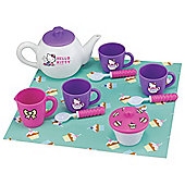 Hello Kitty Picnic Tea Set