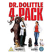 Dr Dolittle Quad Pack 1 - 4 (DVD Boxset)