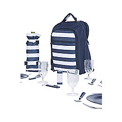 4 Person Picnic Set Patterned
