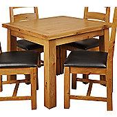 Origin Red Newland Oak Table Flip Top