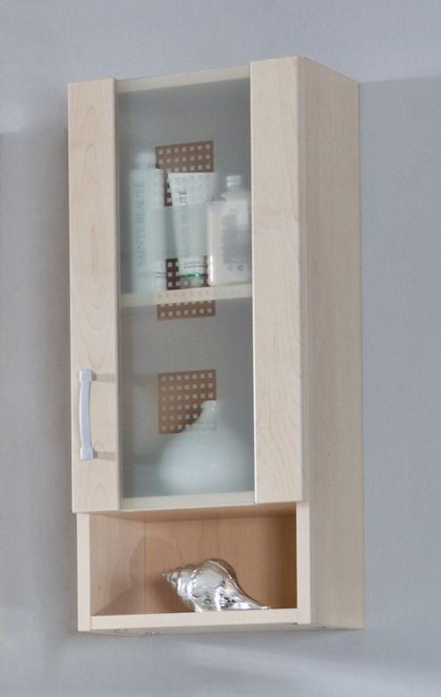 Posseik Nizas 68 x 30cm Upper Wall Cabinet - White / Beech