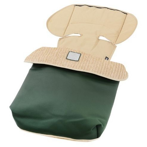 Bebecar Prive Luxury Footmuff (Green Weave)