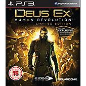 Deus Ex: Human Revolution - Limited Edition - PS3