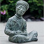 Oriental Garden Sculpture / Ornament - Vert-de-Gris