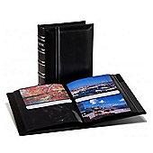 Kenro Carlton Slip-In Photo Album in Black. Holds 200 6x4 inch photos.