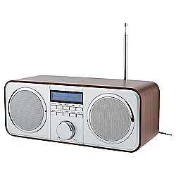 Tesco DR1402 Wooden DAB Stereo