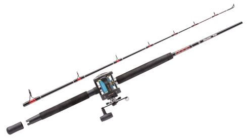 Abu Garcia MT602SWH/GT345 RH 2PC Boat Rod and Reel Combo - 15-40lb