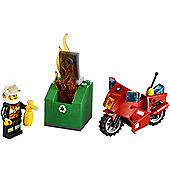 Lego City Fire Motorcycle