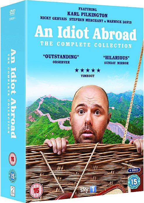 An Idiot Abroad Box Set (Series 1, 2 & The Long Way Round) (DVD Boxset)