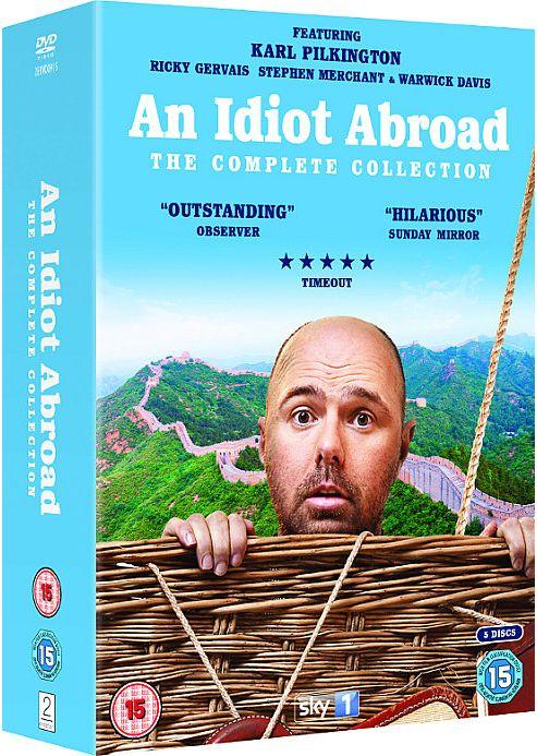 An Idiot Abroad Box Set: Series 1, 2 & The Long Way Round (DVD Boxset)