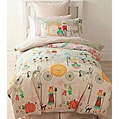 Glass Slipper, Cinderella Style Single Bedding - 100% Cotton