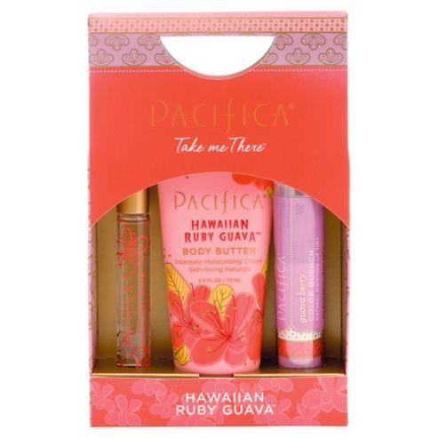 Pacifica Hawaiian Ruby Guava Gift Set