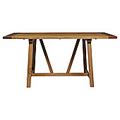 Portobello Trestle Dining Table Rustic Pine