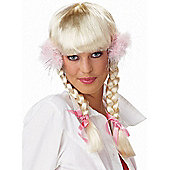 Pop Princess Wig With Pom Poms
