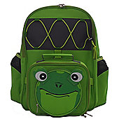 Epicurean Children's Friendly Faces Frog Backpack