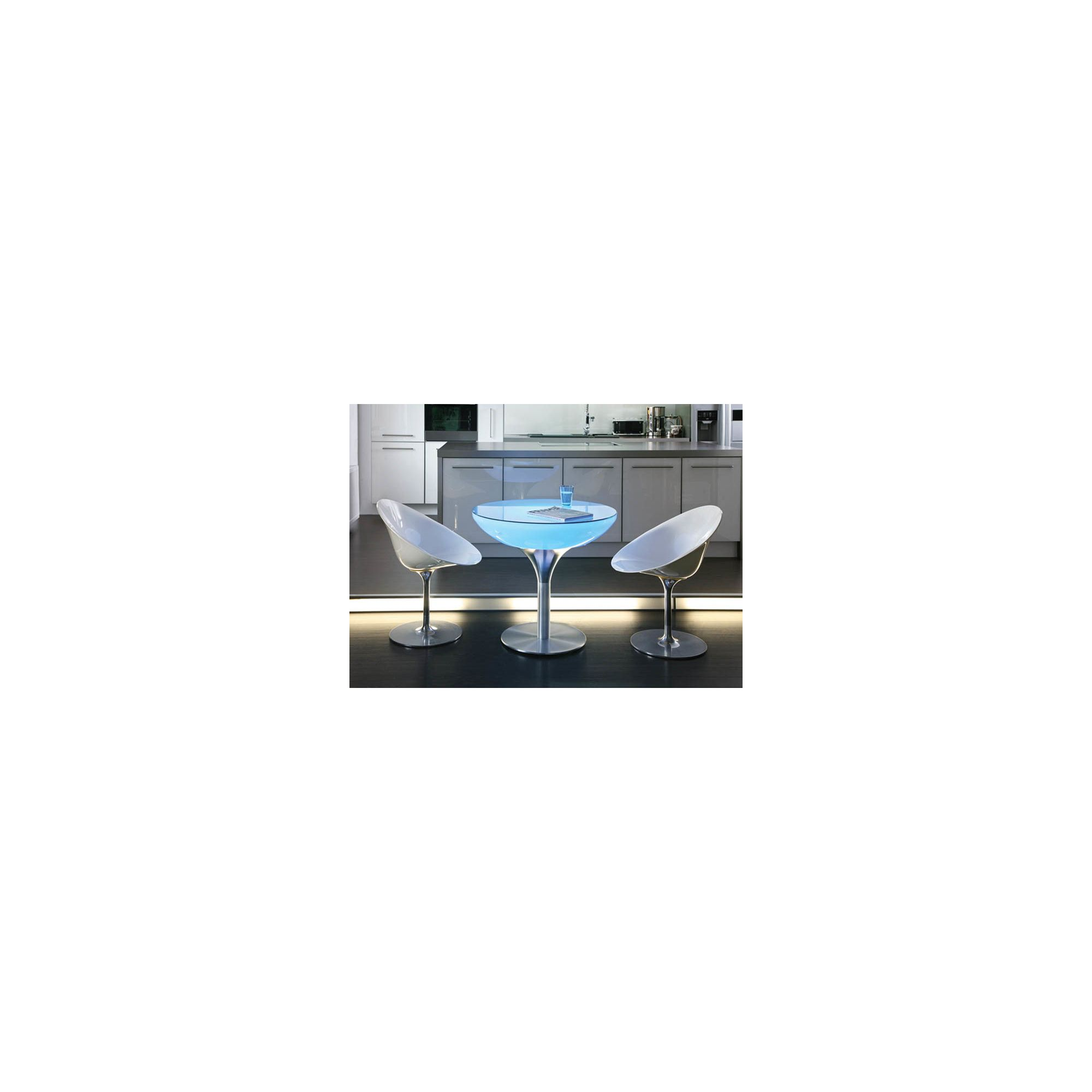 Moree Lounge Indoor Table with Glass Top - 55cm at Tesco Direct