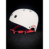 REAX Damaged Helmet 55-59cm Rubberised White