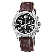 M-Watch Drive Mens Leather Chronograph Date Watch A689.30616.01