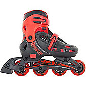 Phantom Black/Red Kids Recreational Inline Skates