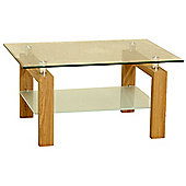 Adina Clear Coffee Table